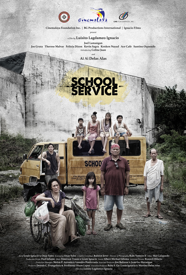 School Service - Poster
