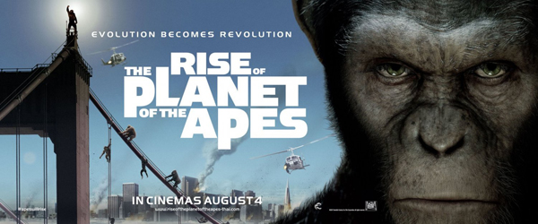 Rise of the Planet of the Apes - banner