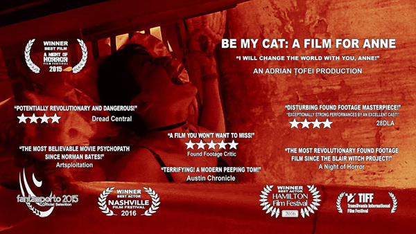 Be My Cat: A Film For Anne - Poster