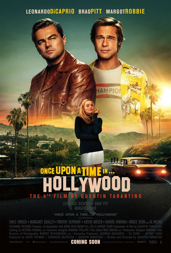 Once Upon A Time In Hollywood - Poster