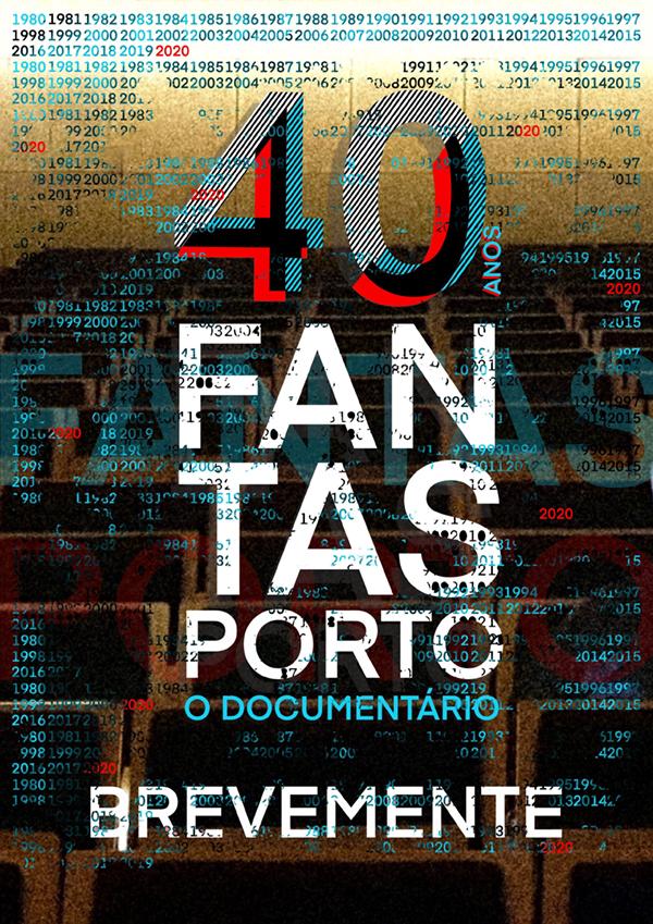 40 Anos de Fantasporto - Poster