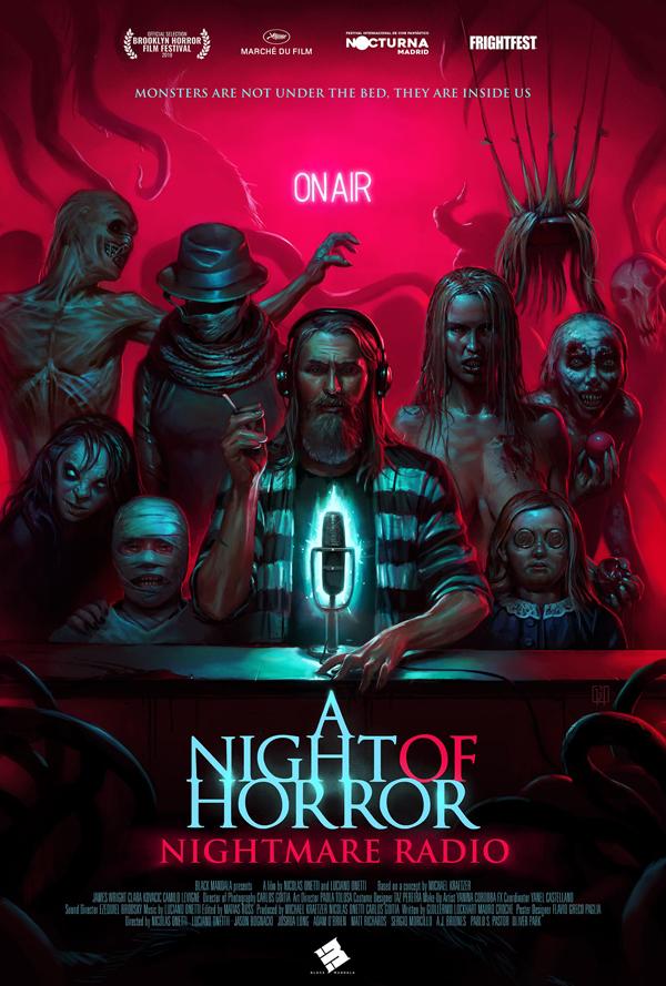 A Night of Horror- Nightmare Radio - Poster