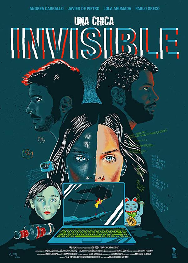 Una Chica Invisible - Poster