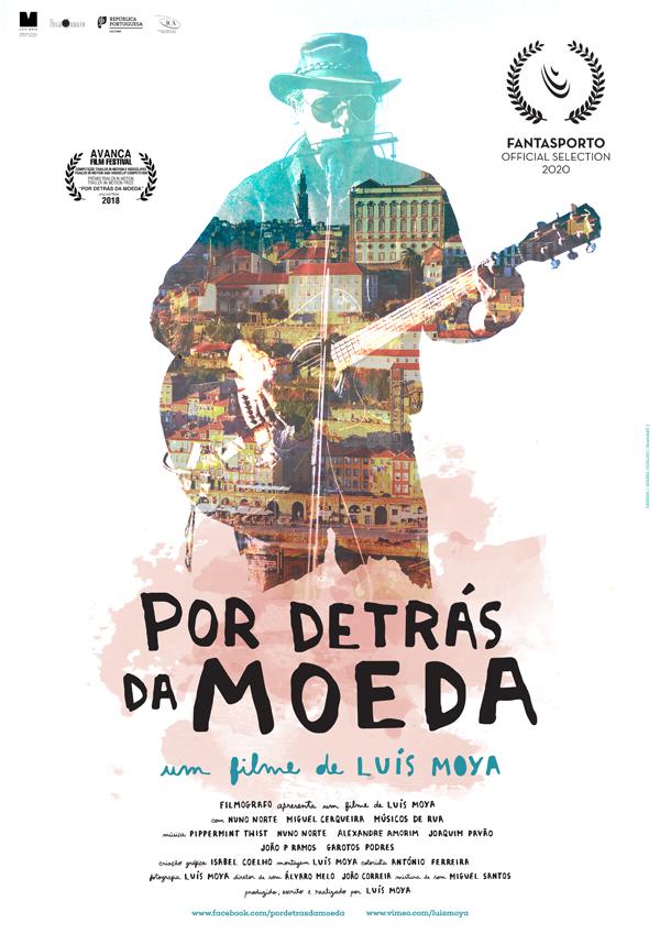 Por Detrás da Moeda - Poster